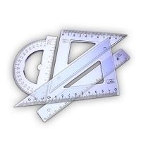 Przybory geometryczne i kreślarskie