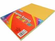 Papier ksero A4/100 80g Schemat MIX kolor pastelowy