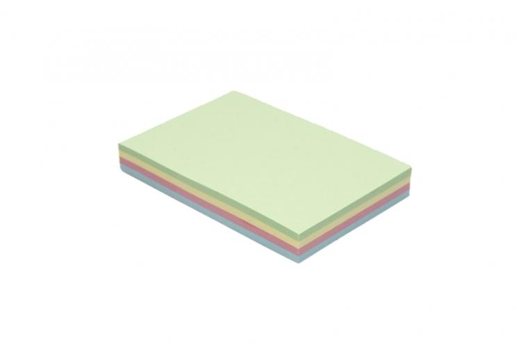 Notes samoprzylepny 50 x 75mm  rainbow TRES