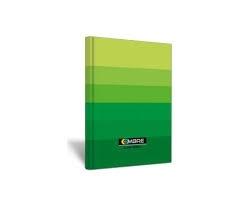 Brulion A5 96k kratka Ombre zielony