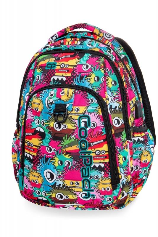 Plecak młodzieżowy Coolpack Strike L Wiggly Eyes P