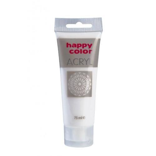 Farba akrylowa karminowy 75 ml Happy