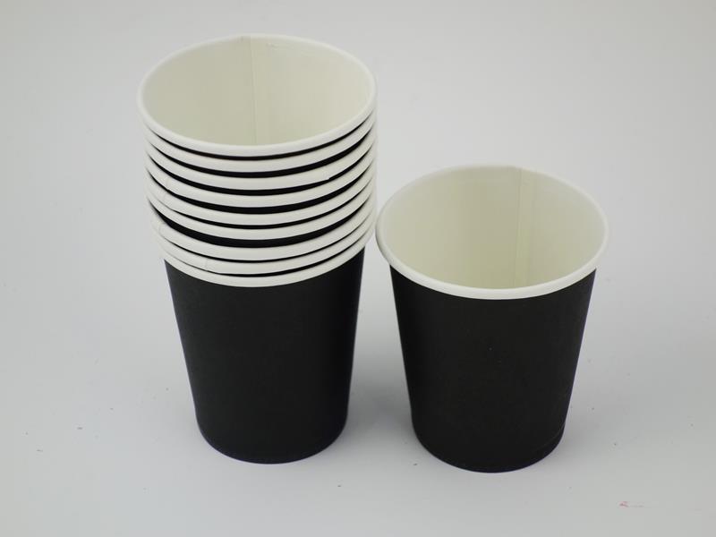 Kubek papierowy kolor czarny 270ml A`10