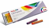 Kredki pastelowe olejne Pentel 25 kol.
