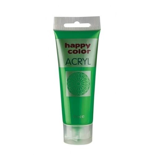 Farba akrylowa zielona 75 ml Happy Color