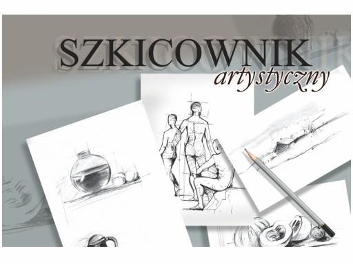 Szkicownik artystyczny A4/100 120g KRESKA
