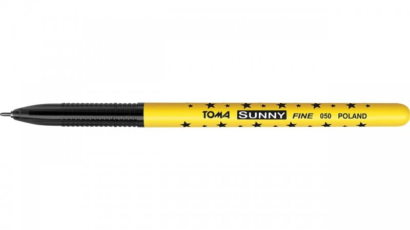 Długopis gwiazdki Sunny czarny