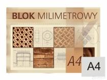 Blok milimetrowy A4/20 kartek