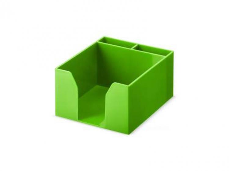 Pudełko przybornik na karteczki Versi-Color zielone