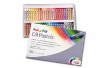 Kredki pastelowe olejne  Pentel 50szt
