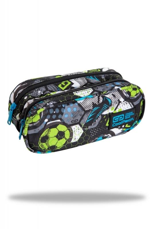 Saszetka podwójna Coolpack Clever Football