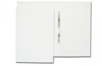 Skoroszyt papierowy z listwą A4 LUX 250g