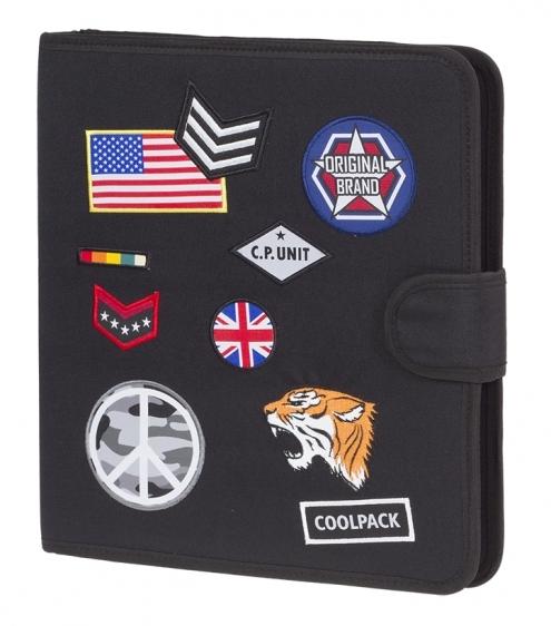 Teczka wielofunkcyjna Coolpack Badges Black A427