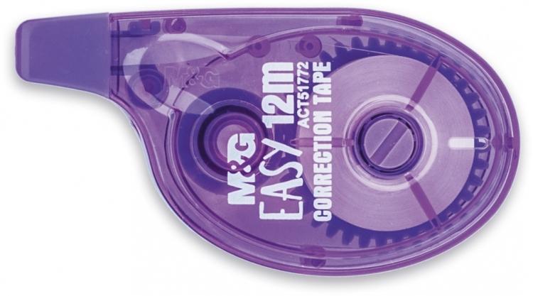 Korektor w taśmie EASY 5mm/12m M&G