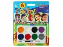Farby do malowania twarzy 8 kol.