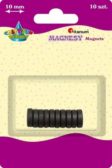 Magnes kreatywny okrągły 1cm A`10