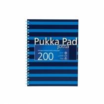 Kołozeszyt A5/200 linia Pukka Pad Jotta Navy niebieski