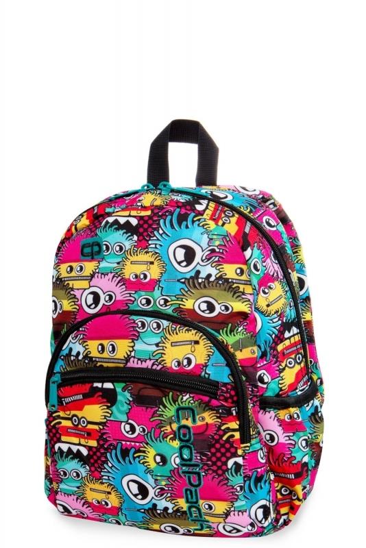 Plcak dziecięcy mini Coolpack Wiggly Eyes Pink
