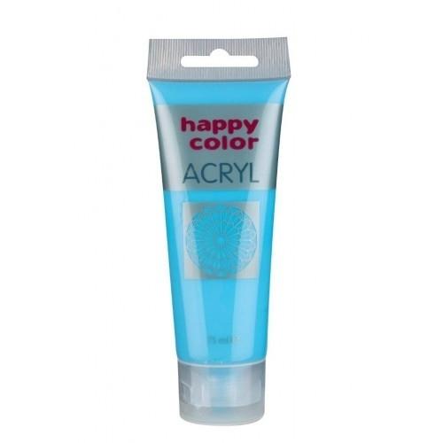 Farba akrylowa niebieski pastelowy 75 ml Happy Color