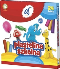 Plastelina AS 24 kolory