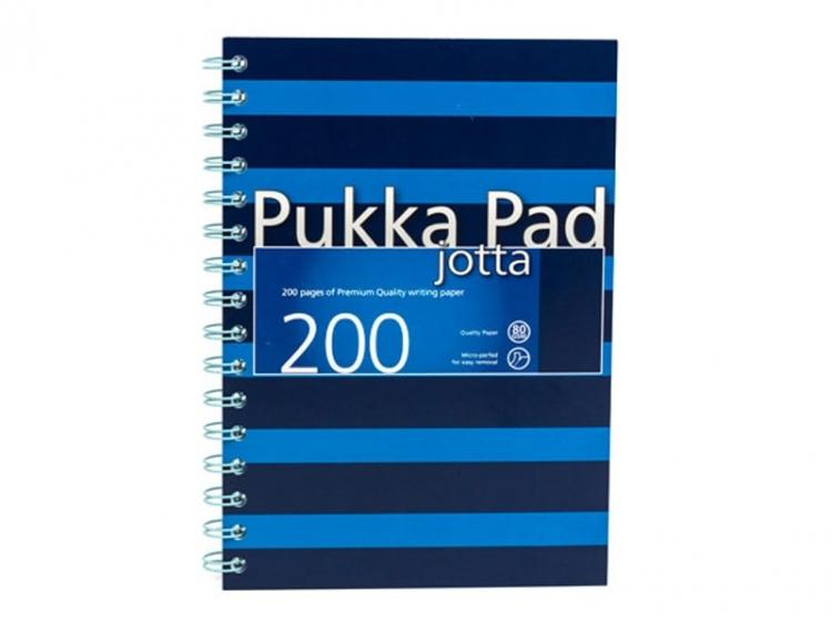 Kołozeszyt A4/200 linia niebieski Pukka Pad Jotta Navy