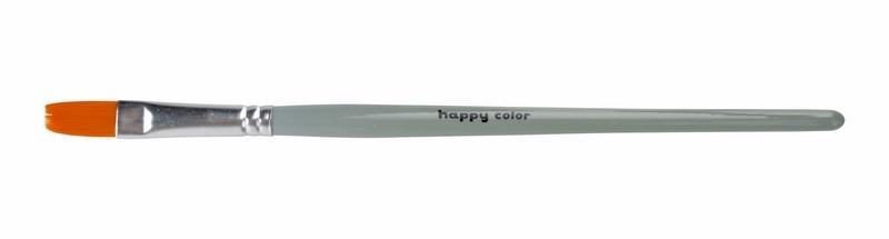 Pędzel płaski nr14 hobbystyczny syntetyk Happy Col