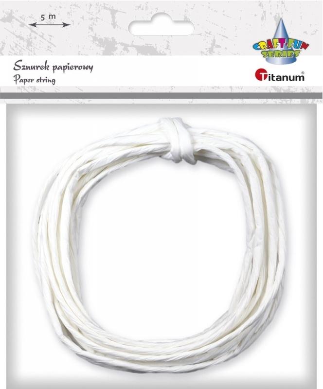 Sznurek papierowy 35mm/5m biały