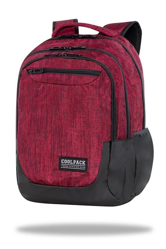 Plecak młodzieżowy Coolpack Soul Snow Red