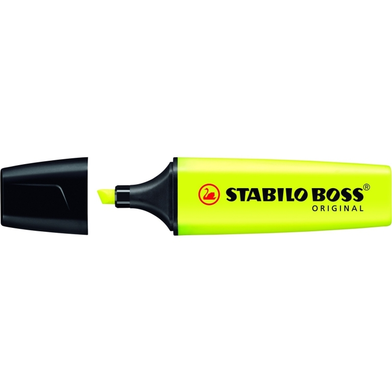 Zakreślacz fluorescencencyjny Stabilo Boss żółty