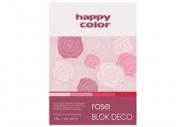 Blok techniczny DECO A5/20 170g 4 odcienie czerwieni