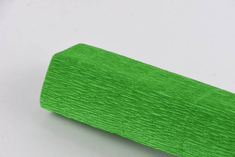 Krepina włoska 0,5x2,5m zielona nr 563