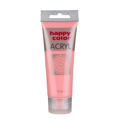 Farba akrylowa róż pudrowy pastelowy 75 ml Happy Color