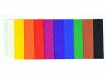 Krepa bibuła marszczona 10 kolorów Clasic