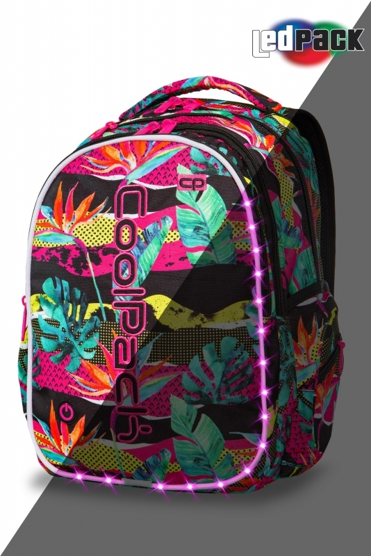 Plecak młodzieżowy Coolpack Joy L Paradise Led