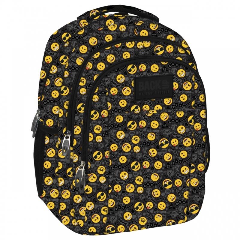 Plecak młodzieżowy BackUP model H56 Emoji